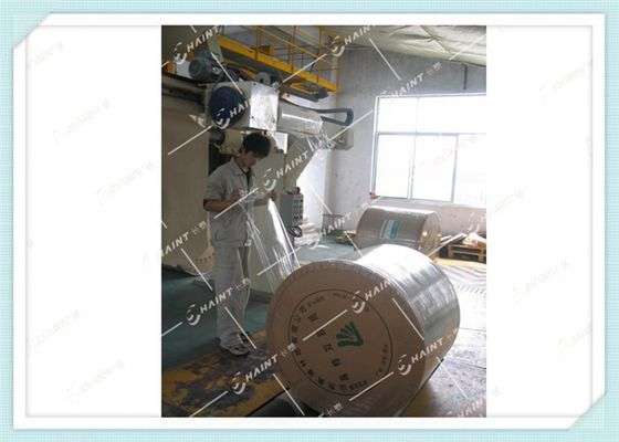 Kraft Paper Roll Wrapping Machine In Paper Industry 20 Rolls / Hour Case Package